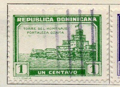 Dominican Republic 1932 Early Issue Fine Used 1c. 104076