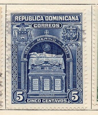 Dominican Republic 1933 Early Issue Fine Used 5c. 104079