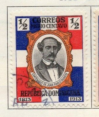 Dominican Republic 1914 Early Issue Fine Used 1/2c. 104094