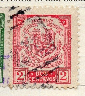 Dominican Republic 1922 Early Issue Fine Used 2c. 104129