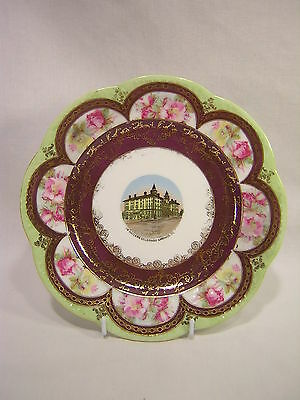 Bowman Austria Souvenir China COLORADO SPRINGS, COLORADO ~ The Antlers Plate