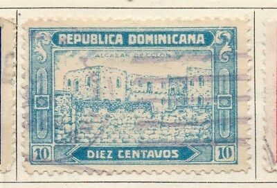 Dominican Republic 1928 Early Issue Fine Used 10c. 104145