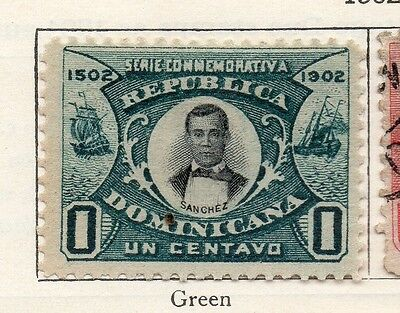 Dominican Republic 1902 Early Issue Fine Mint Hinged 1c. 104163