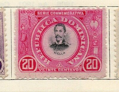 Dominican Republic 1902 Early Issue Fine Mint Hinged 20c. 104168