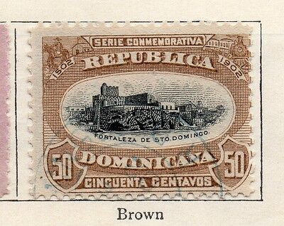 Dominican Republic 1902 Early Issue Fine Used 50c. 104169