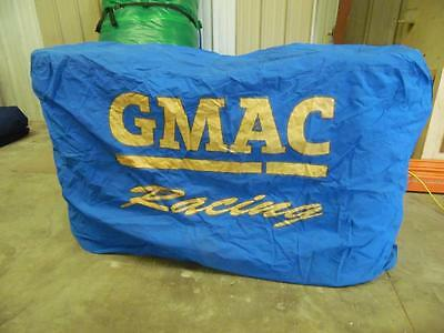 Alpha Canvas Gmac Triple Stack Tire Cover  Race Used Hendrick Motorsports