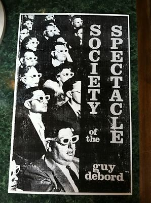 NEW - Society of the Spectacle Poster by Debord, Guy