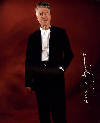 David Lynch 8X10 Signed Photo Picture Pic Reprint