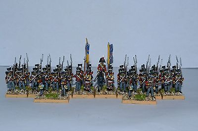15mm Napoleonic painted British Line Infantry  BR8001