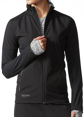 adidas Supernova Gore Windstopper Ladies Running Jacket - Black