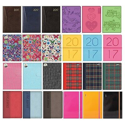 A5 2017 DIARY {Tallon} Week to View (Organiser/Planner)