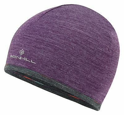 Ronhill Merino 200 Running Hat - Purple
