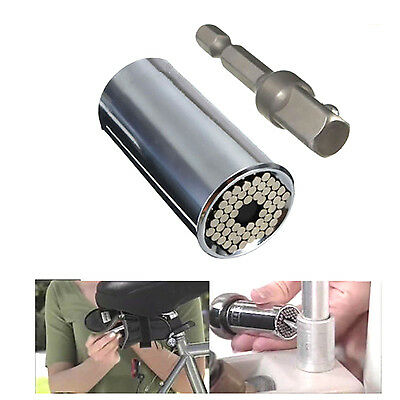 Universal Gator Socket Grip Adapter ETC-120A with Power Drill Adapter Tool