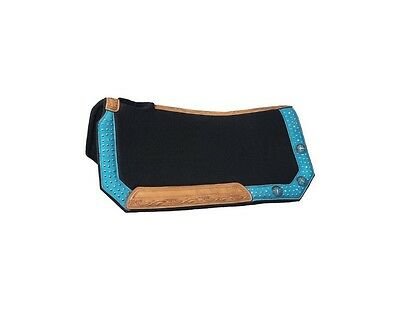 Tough-1 Saddle Pad Gypsy Spirit Collection 28 x 30 Turquoise 31-2775