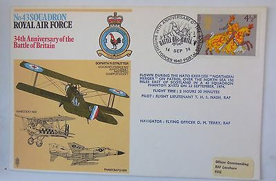 Great Britain Cover34Th Anniversary Of The Battle Of Britain