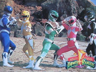 1994 MIGHTY MORPHIN POWER RANGERS 72 CARDS SET Season 3 Red Green Blue White