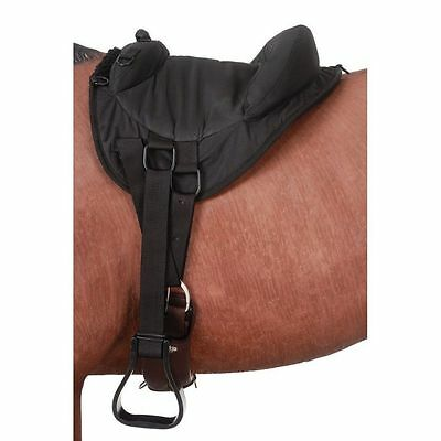 "Tough-1 Saddle Pad Heavy Denier Bareback Youth 12"" Black 31-911"