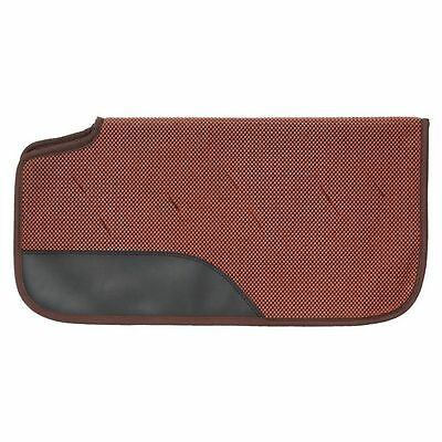 Tough-1 Saddle Pad Air Flow Shock Absorber PVC 30 x 30 Brown 31-9970