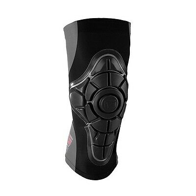 G-Form Pro X Iconic Black New Longboard Skateboard Knee Pads Black Size X-Large
