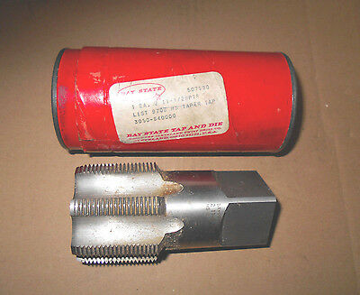 """Bay State Pipe  Tap 2"""" 11 1/2 NPTF List 9708 3050-640000 Taper Tap HS  USA"""