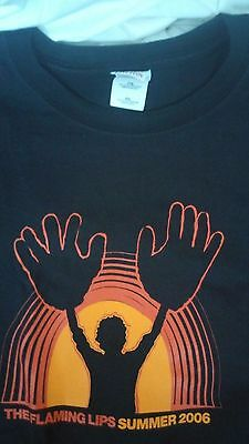 Authentic FLAMING LIPS Mystic Headspace Tour 2006 XXL T-Shirt