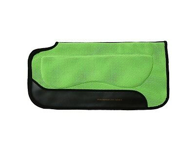 "Tough-1 Western Saddle Pad Air Flow PVC Built Up 30""x30"" Green 31-9971"