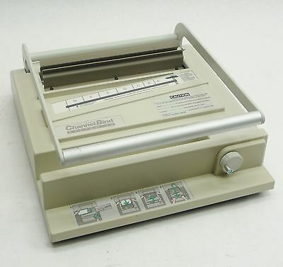 XEROX ChannelBind SYSTEM 20 DESKTOP DOCUMENT NON-ELECTRIC BINDING MACHINE 10250