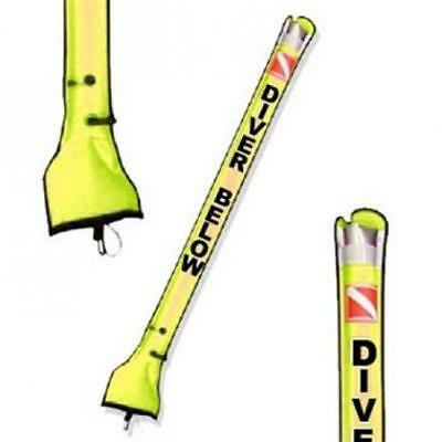 Storm High Visibility Scuba Divers SMB Surface Marker Buoy 6ft - Yellow