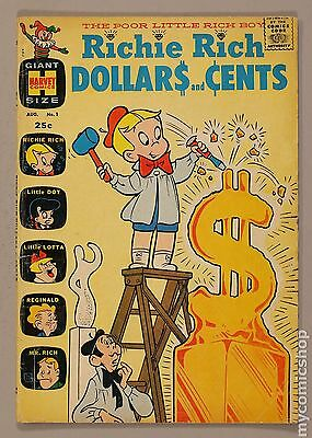 Richie Rich Dollars and Cents (1963) #1 GD+ 2.5