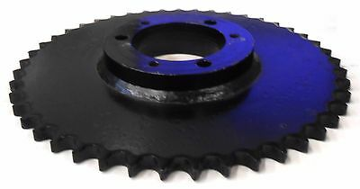 "Unknown Brand Roller Chain Sprocket 60Sf45, 45 Teeth, 3/4"" Pitch, 11.18"" Od"