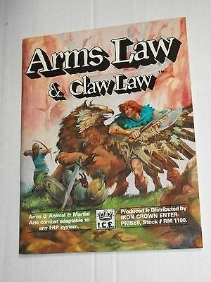 ICE ARMS LAW & CLAW LAW RM 1100 SC Softcover