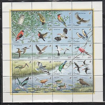 Gambia 970 Birds Mint NH