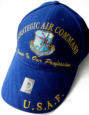 Strategic Command Usaf Air Force Peace Our Profession Embroidered Baseball Cap