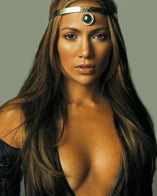 Jennifer Lopez 8X10 Photo Picture Pic Hot Sexy Big Boobs Open Top Close Up 3