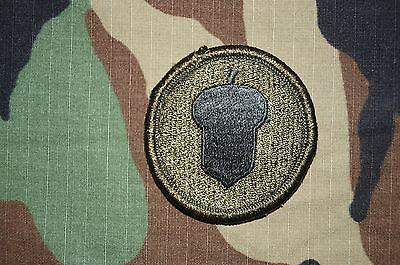 Military Patch US Army 87th Infantry Division Green OD BDU RARE Authentic