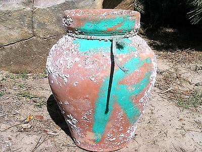 Old terracotta Octopus fishing Trap pot with barnacles 5