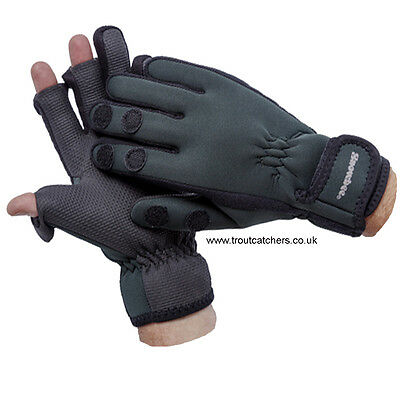 Snowbee Neoprene Gloves - 13122 -Medium