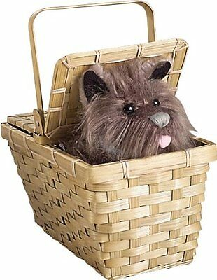Wizard of Oz Dorothy's Toto in a Basket, New, Free Shipping