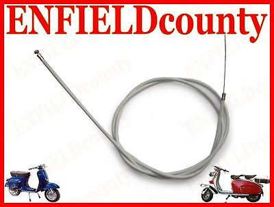 NEW LAMBRETTA SCOOTER COMPLETE FRICTION FREE CLUTCH CABLE @AEs