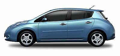 BODY SIDE Moldings, PAINTED Trim Mouldings For: NISSAN LEAF 2011-2017
