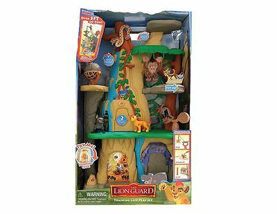JP Lion Guard Training Lair Play Set and 2 Figures Brand New Childrens Movie