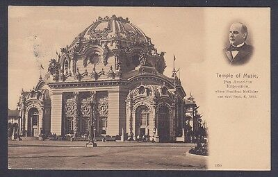Temple of Music - Pan American Exposition Where McKinley was Shot