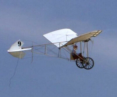 1/4 Scale French Santos-Dumont Demoiselle Plans,Templates and Instructions