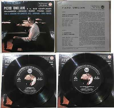 "UMILIANI / VALDAMBRINI / DONADIO il jazz in italy M-/VG+ EP 7"" ITALIAN JAZZ"