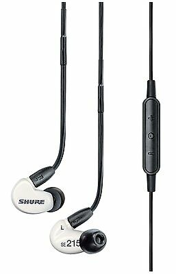 Shure*SE215m+*Special Edition Sound Isolating Earphonesw/Remote+Mic FREESHIP NEW