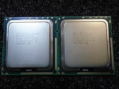 MATCHED PAIR Intel X5680 6 CORE XEON 3.33GHz 12M 6 CORE SLBV5 CPU Processors