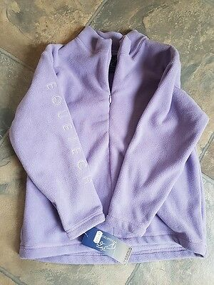 EQUETECH girls LILAC FLEECE JUMPER   See description for sizing