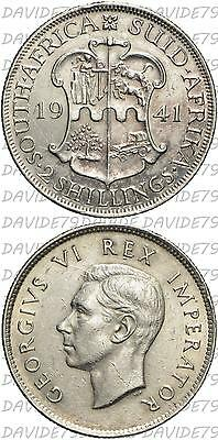 03919] Sud Africa - South Africa - 2 Shillings Argento Silver 1941 - Km# 29
