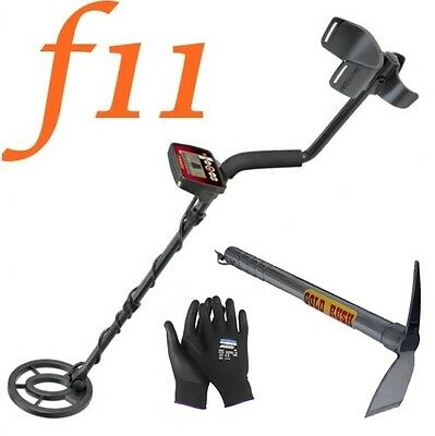 Metal Detector Fisher F11 Search Metal Gold Coins + Ax Steel