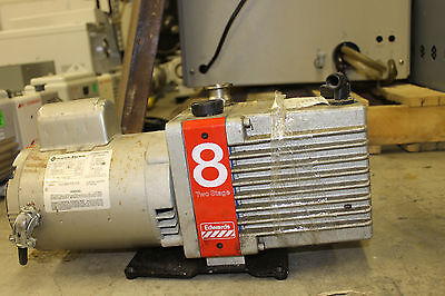 Edwards 8 Two Stage Vacuum Pump E2M8